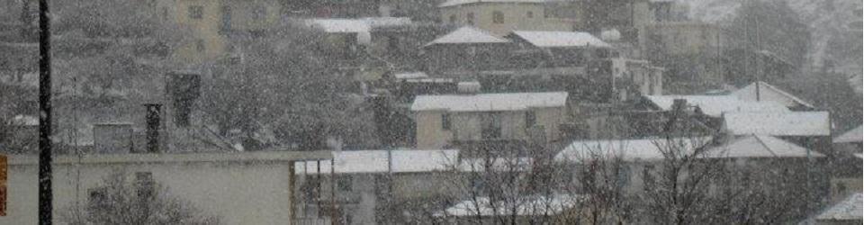 Chandria - Χανδρια in Winter